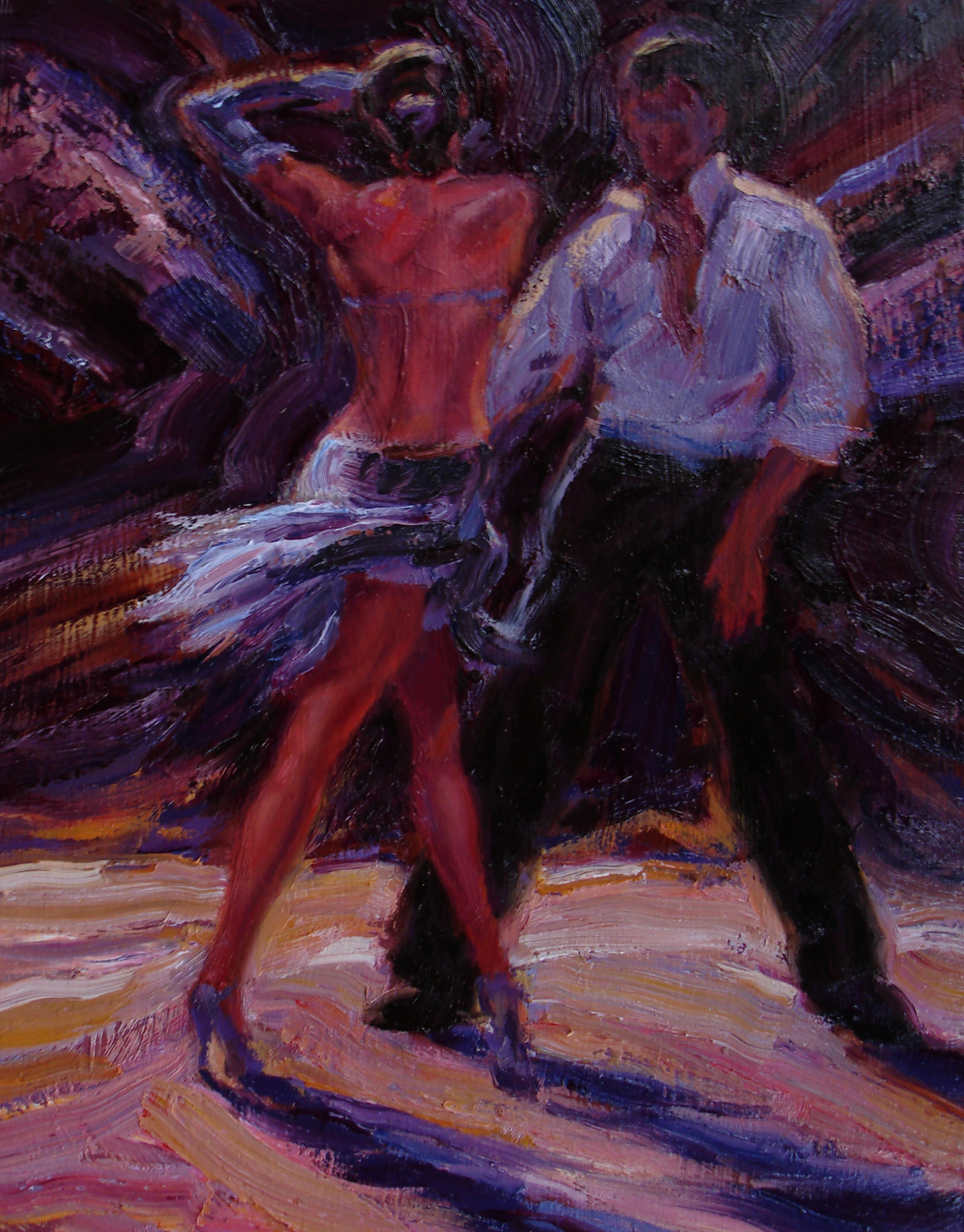 Latin Dancers Wallpaper on The Dance Floor
